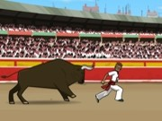 Play Extreme pamplona run