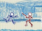 Play Sketchman runner